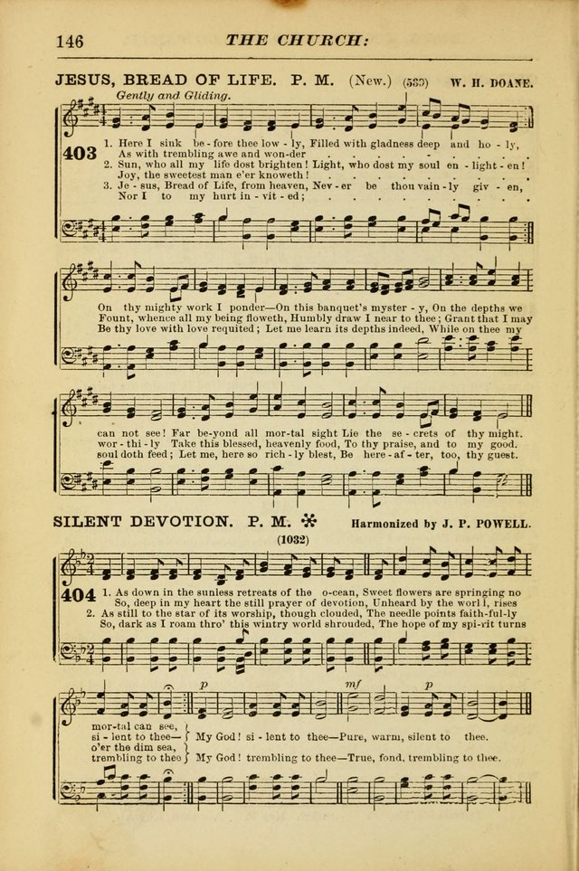 The Christian Hymnal: a choice collection of hymns and tunes for congregational and social worship page 146