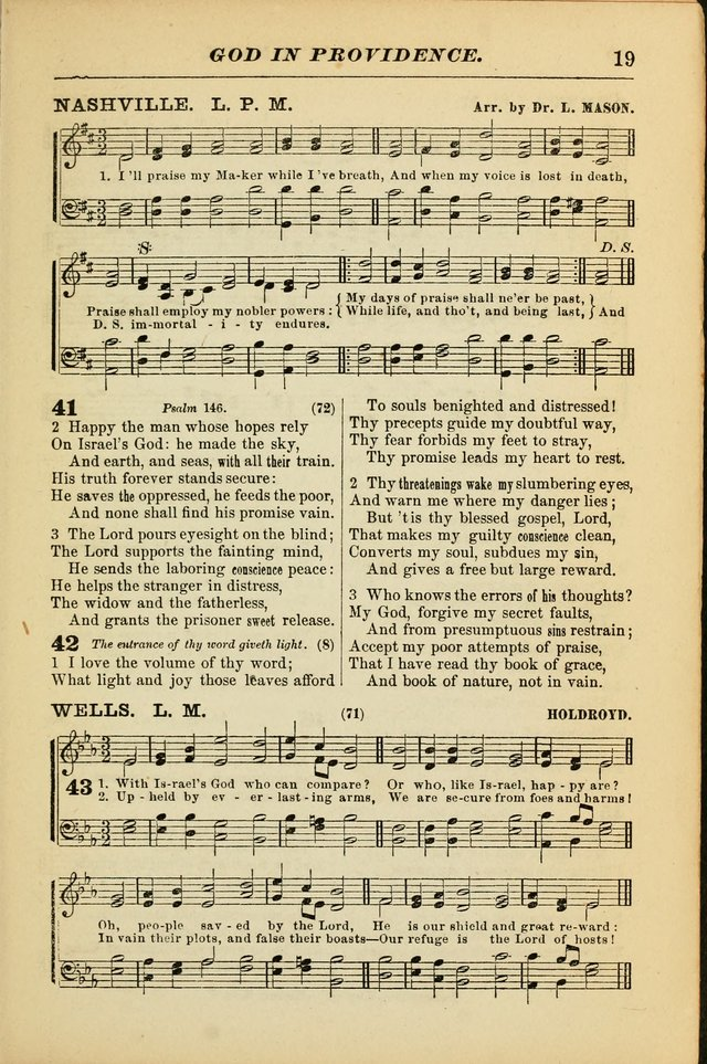 The Christian Hymnal: a choice collection of hymns and tunes for congregational and social worship page 19