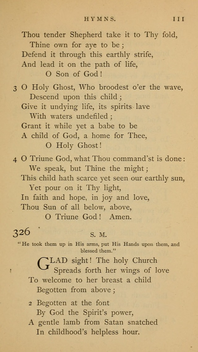 "A Church hymnal: compiled from ""Additional hymns,"" ""Hymns ancient and modern,"" and ""Hymns for church and home,"" as authorized by the House of Bishops page 118"