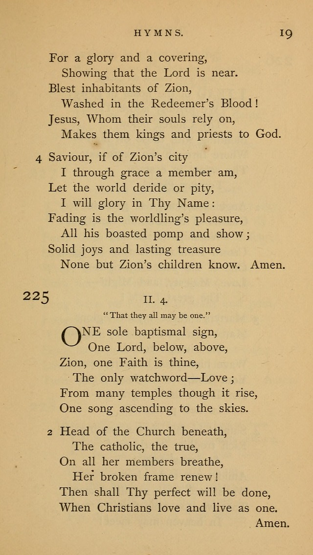 A Church hymnal: compiled from