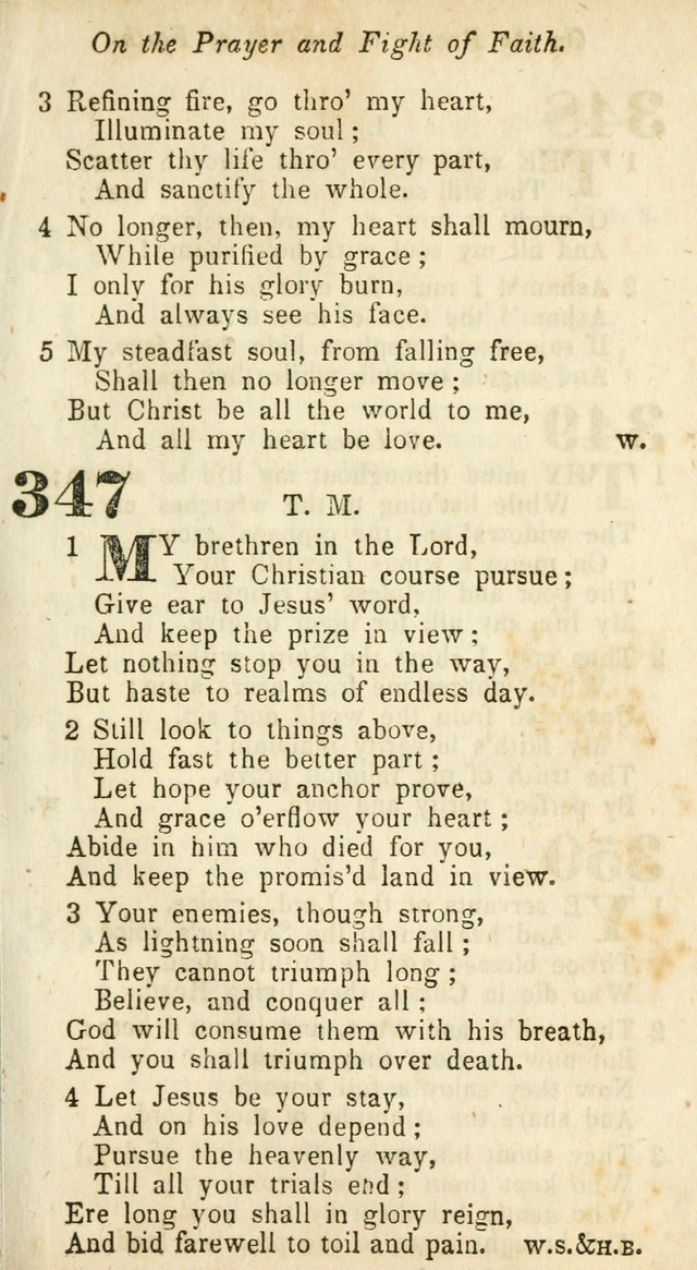 A Collection of Hymns: for camp meetings, revivals, &c., for the use of the Primitive Methodists page 347