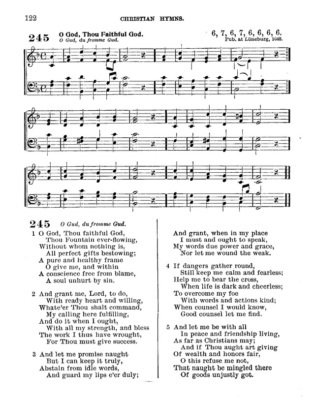 Christian Hymns: for church, school and home: with music 245