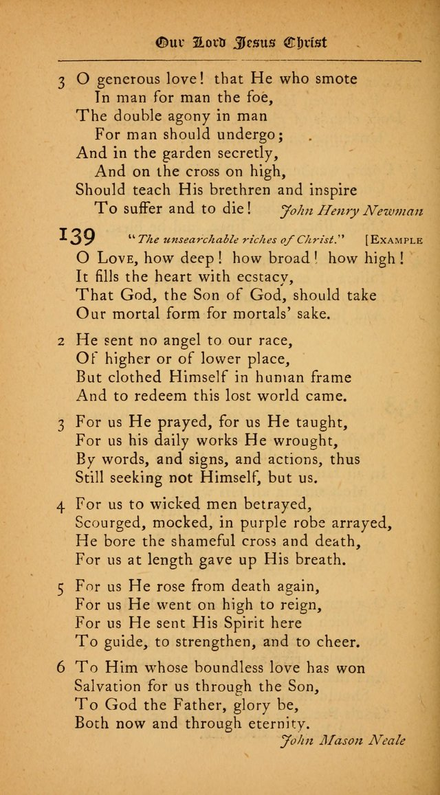 The College Hymnal: for divine service at Yale College in the Battell Chapel page 100