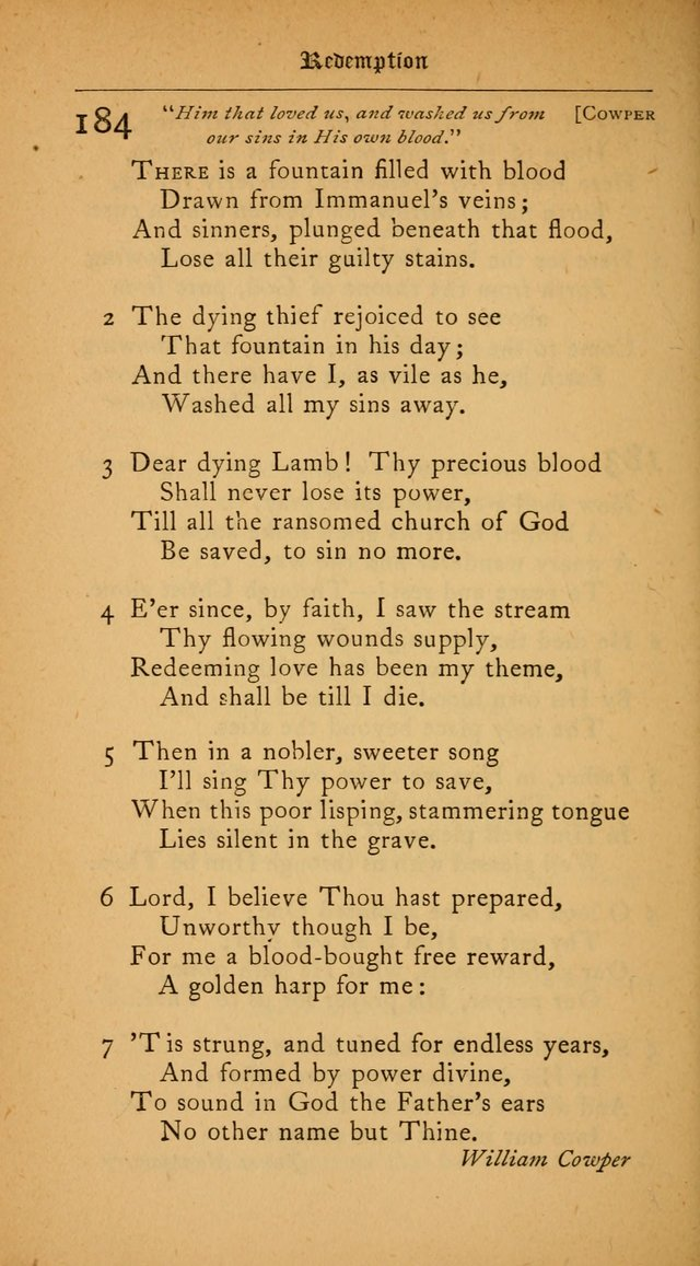 The College Hymnal: for divine service at Yale College in the Battell Chapel page 134