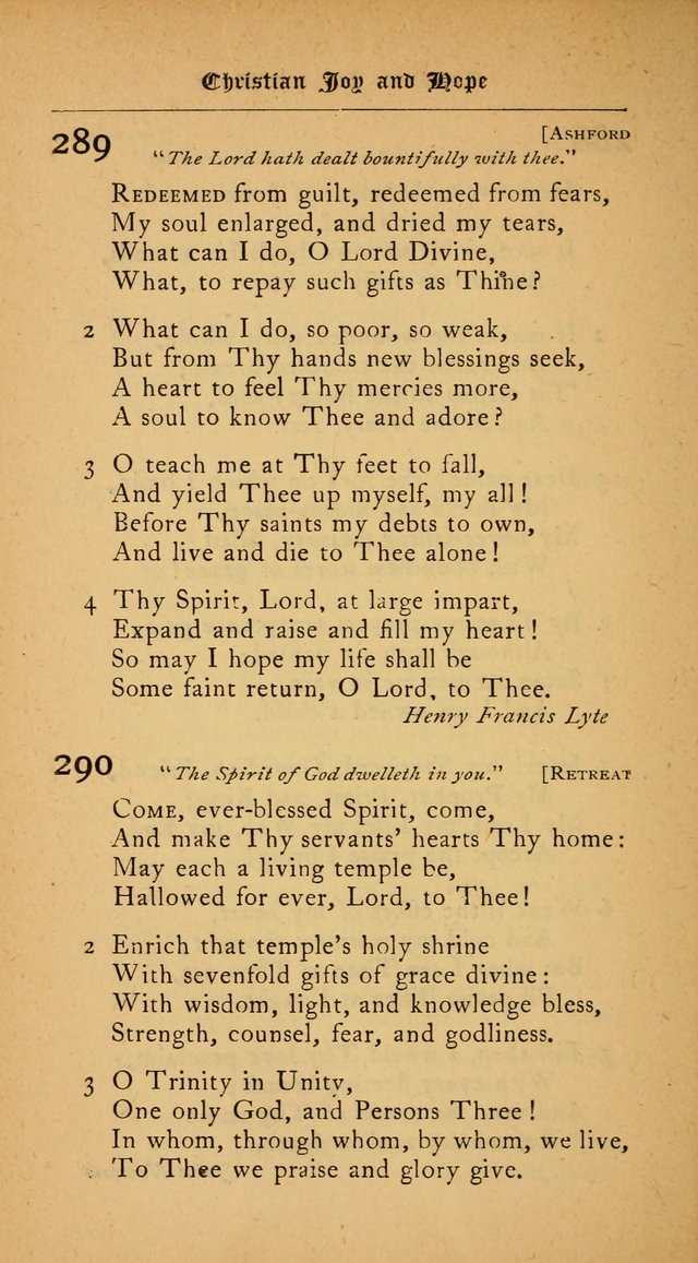 The College Hymnal: for divine service at Yale College in the Battell Chapel page 208