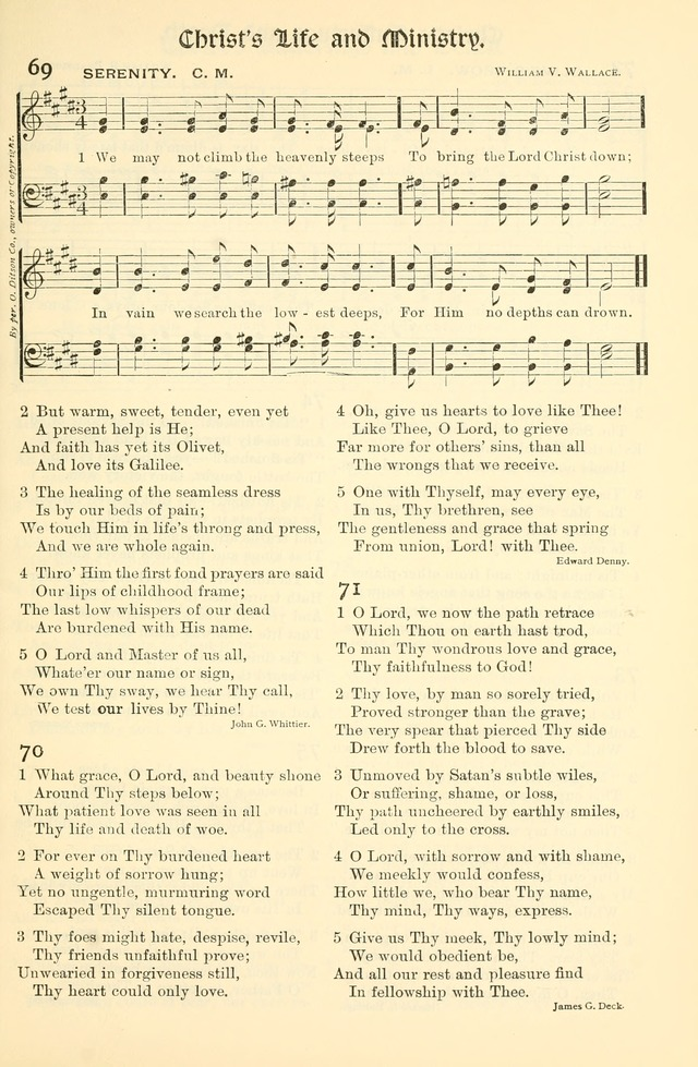 Church Hymns and Gospel Songs: for use in Church Services, Prayer Meetings, and other Religious Services page 27
