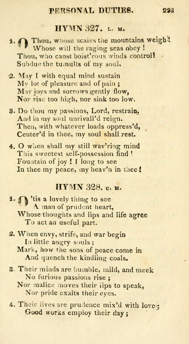A Collection of Hymns and a Liturgy for the Use of Evangelical Lutheran Churches: to which are added prayers for families and individuals page 223