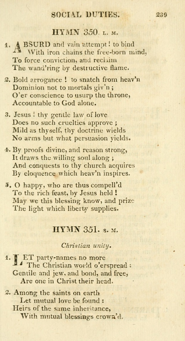 A Collection of Hymns and a Liturgy for the Use of Evangelical Lutheran Churches: to which are added prayers for families and individuals page 239