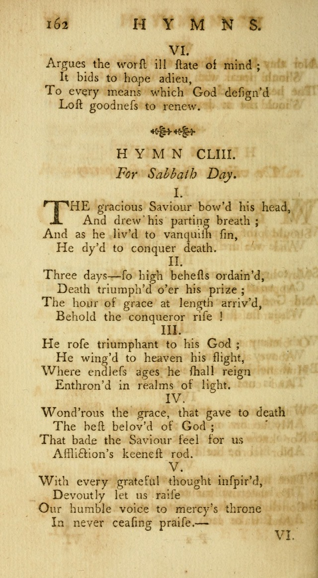 A Collection of Hymns, More Particularly Designed for the Use of the  West Society in Boston. (2nd ed. with Additions) page 164
