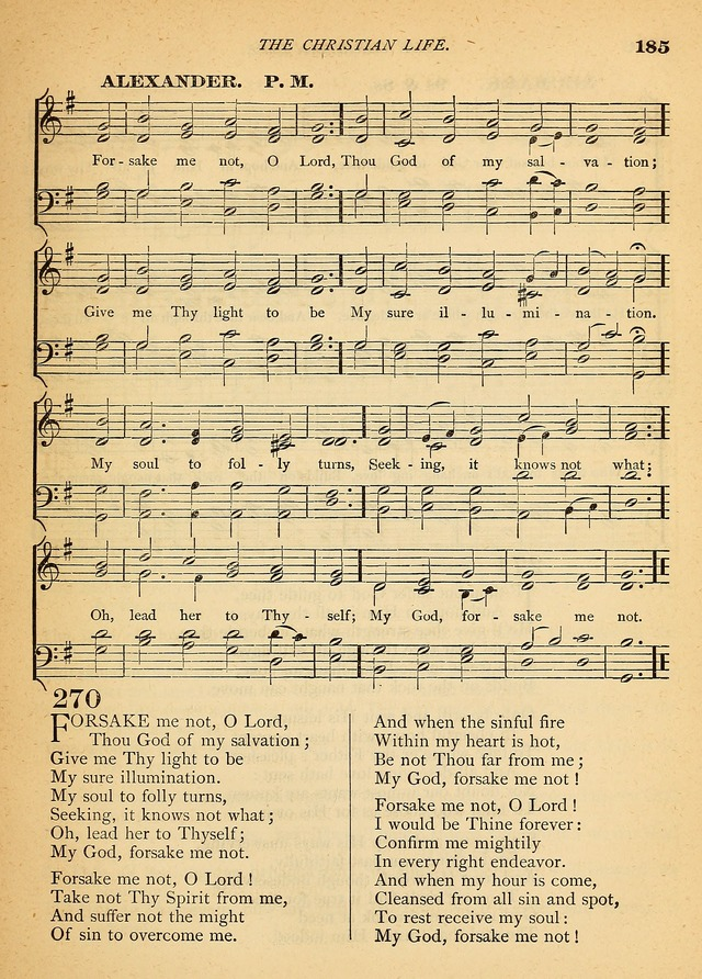 The Christian Hymnal: a selection of psalms and hymns with music, for use in public worship page 187