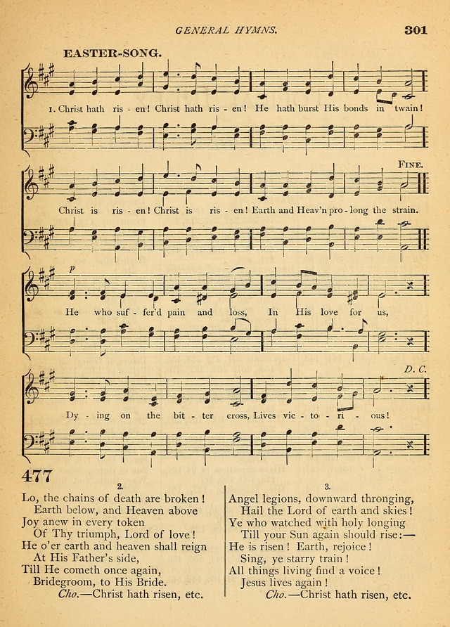 The Christian Hymnal: a selection of psalms and hymns with music, for use in public worship page 303
