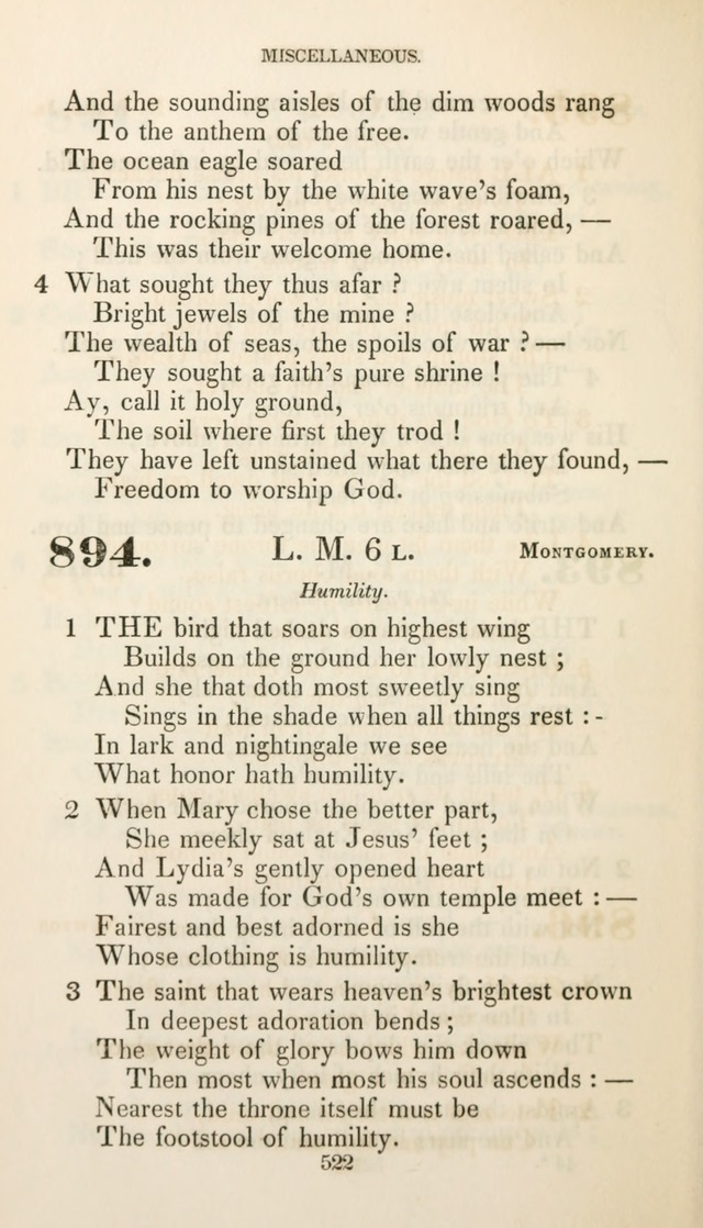 Christian Hymns for Public and Private Worship: a collection compiled  by a committee of the Cheshire Pastoral Association (11th ed.) page 522