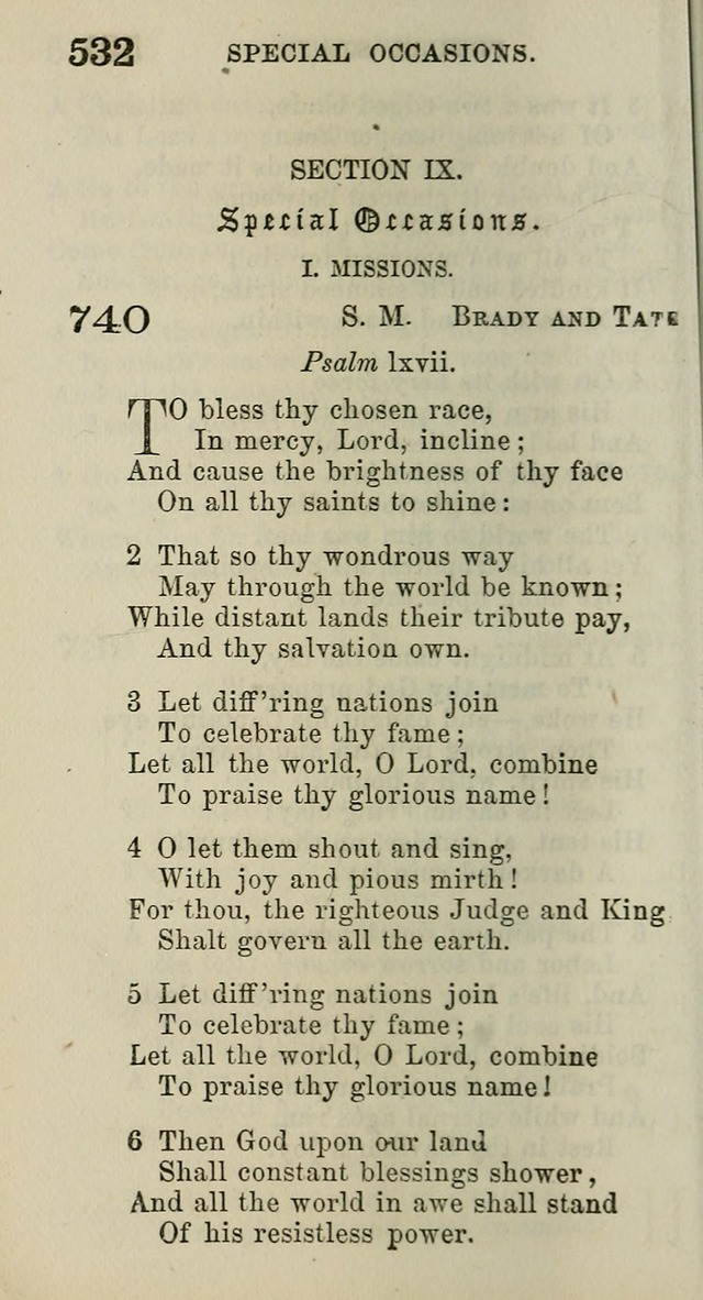 A Collection of Hymns for Public, Social, and Domestic Worship page 536