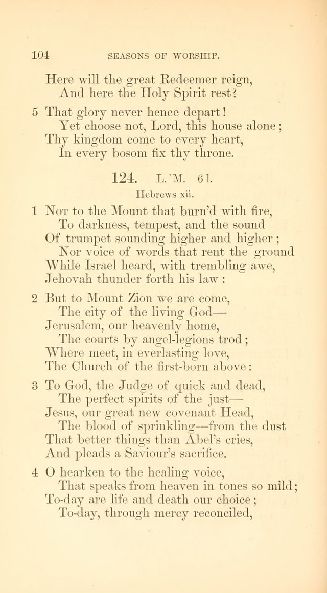 A Collection of Hymns: Supplementary to the Psalms and Hymns of Dr. Watts page 111