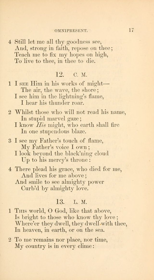 A Collection of Hymns: Supplementary to the Psalms and Hymns of Dr. Watts page 24