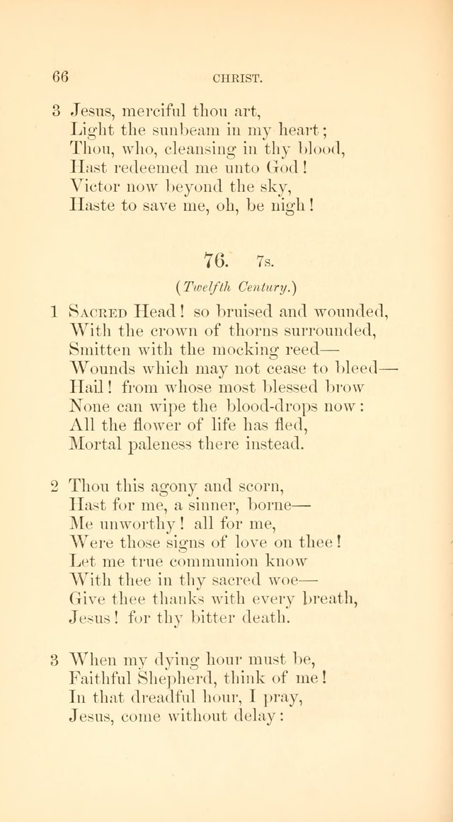 A Collection of Hymns: Supplementary to the Psalms and Hymns of Dr. Watts page 73