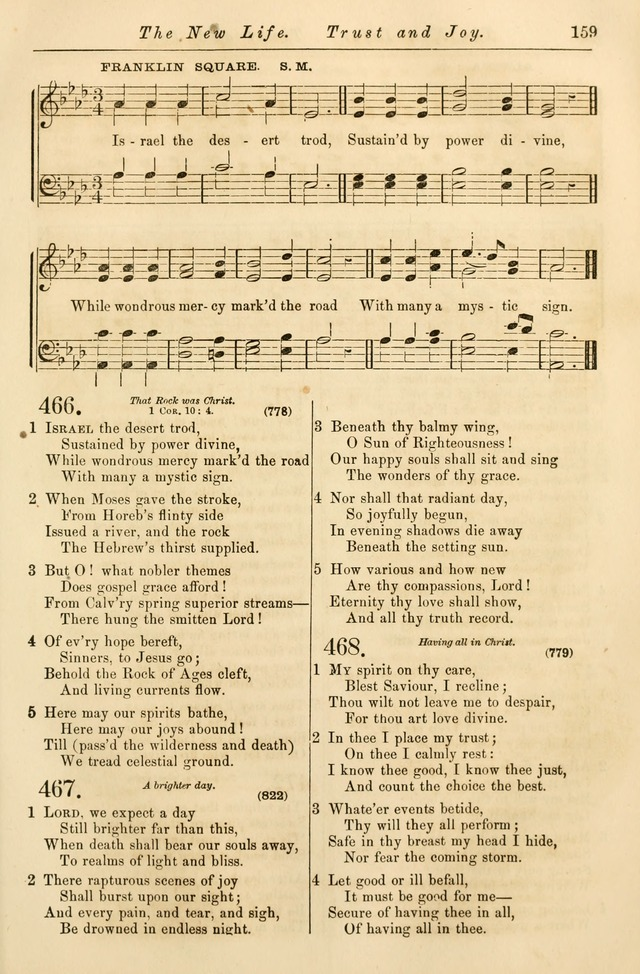 Christian Hymn and Tune Book, for use in Churches, and for Social and Family Devotions page 166