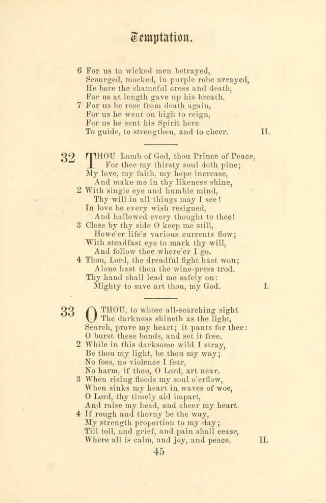 The Christian Hymnal, Hymns with Tunes for the Services of the Church page 52
