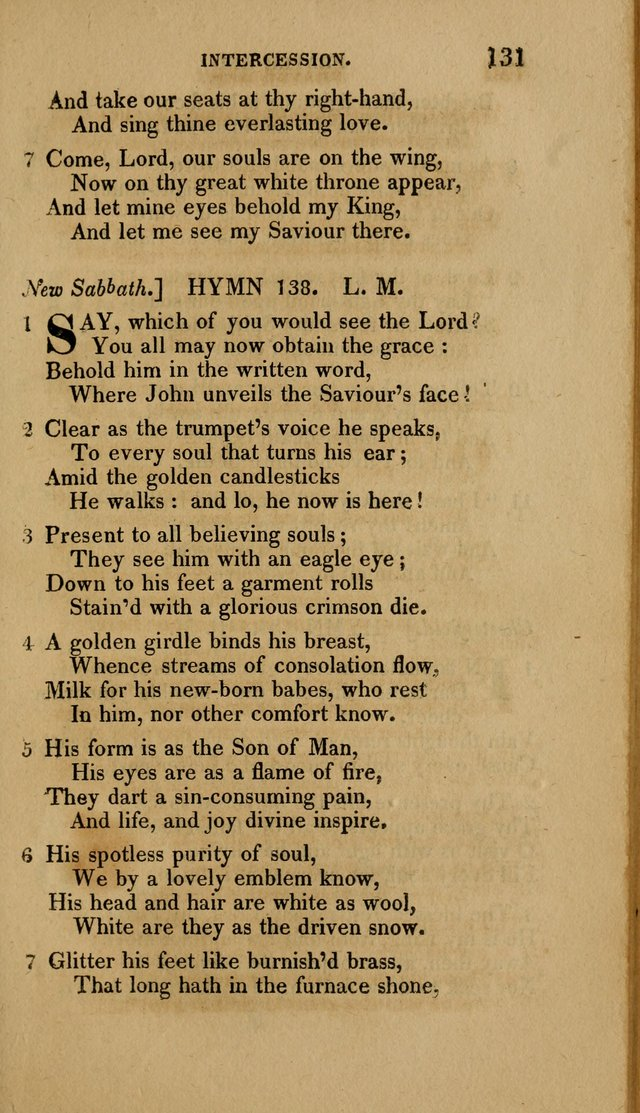 A Collection of Hymns for the Use of the Methodist Episcopal Church: Principally from the Collection of the Rev. John Wesley. M. A. page 136