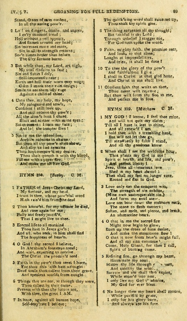 A Collection of Hymns: for the use of the people called Methodists; in miniature page 103