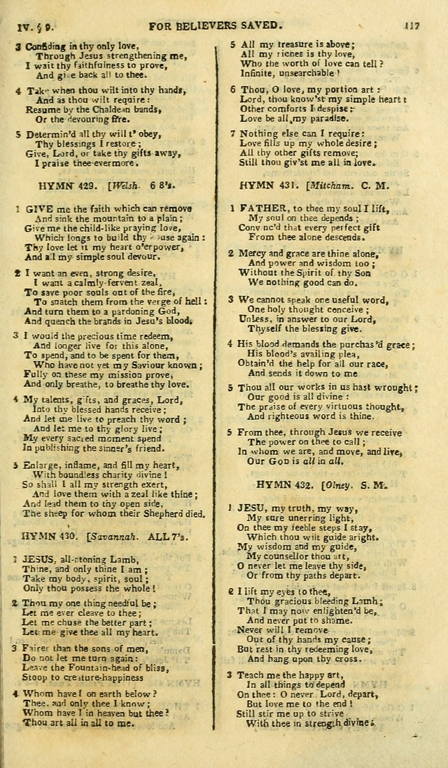 A Collection of Hymns: for the use of the people called Methodists; in miniature page 121