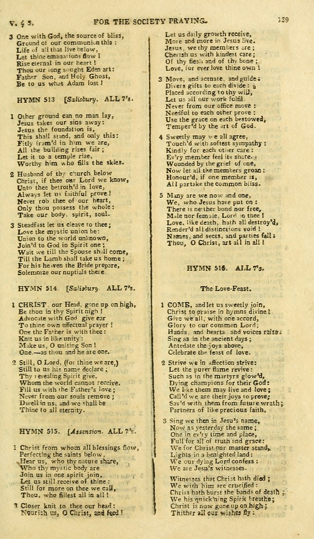 A Collection of Hymns: for the use of the people called Methodists; in miniature page 143