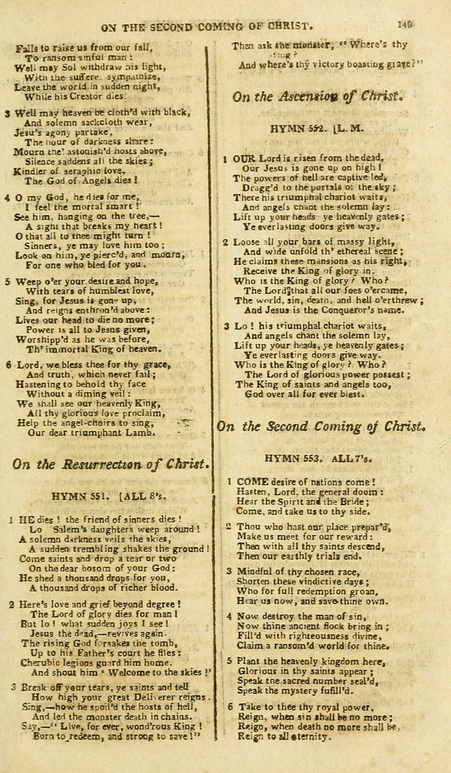 A Collection of Hymns: for the use of the people called Methodists; in miniature page 153