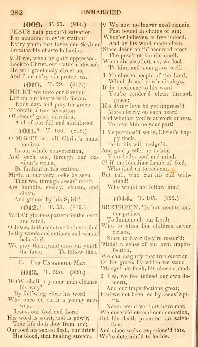 A Collection of Hymns, for the Use of the Protestant Church of the United Brethren. New and  Revised ed. page 323