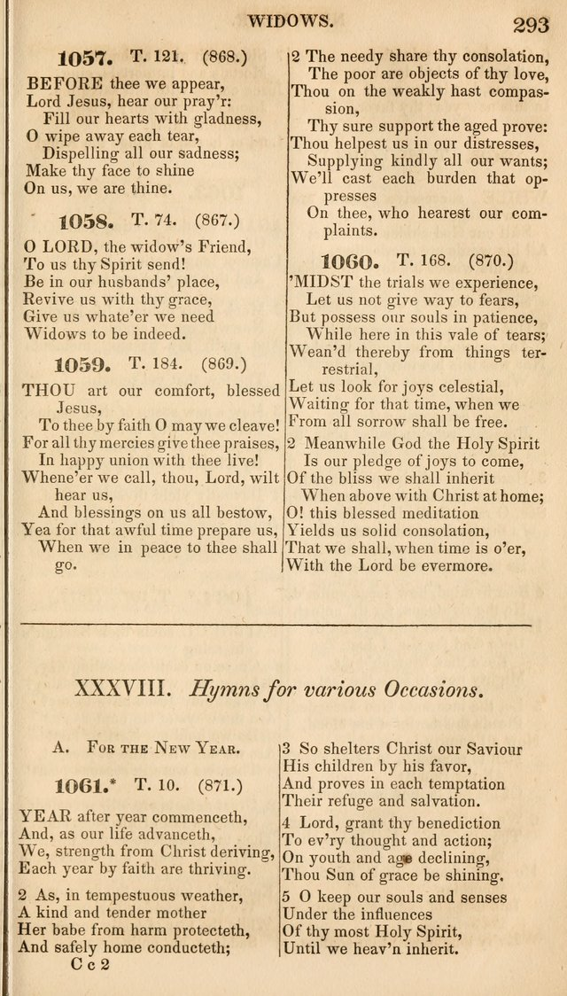 A Collection of Hymns, for the Use of the Protestant Church of the United Brethren. New and  Revised ed. page 334