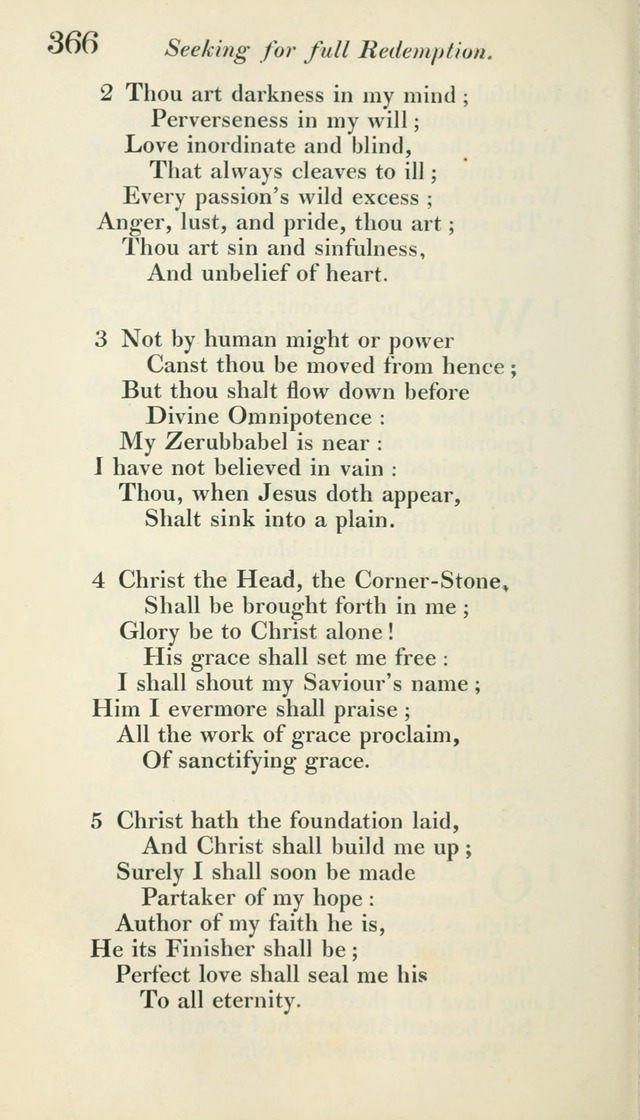 A Collection of Hymns, for the Use of the People Called Methodists, with a Supplement page 368