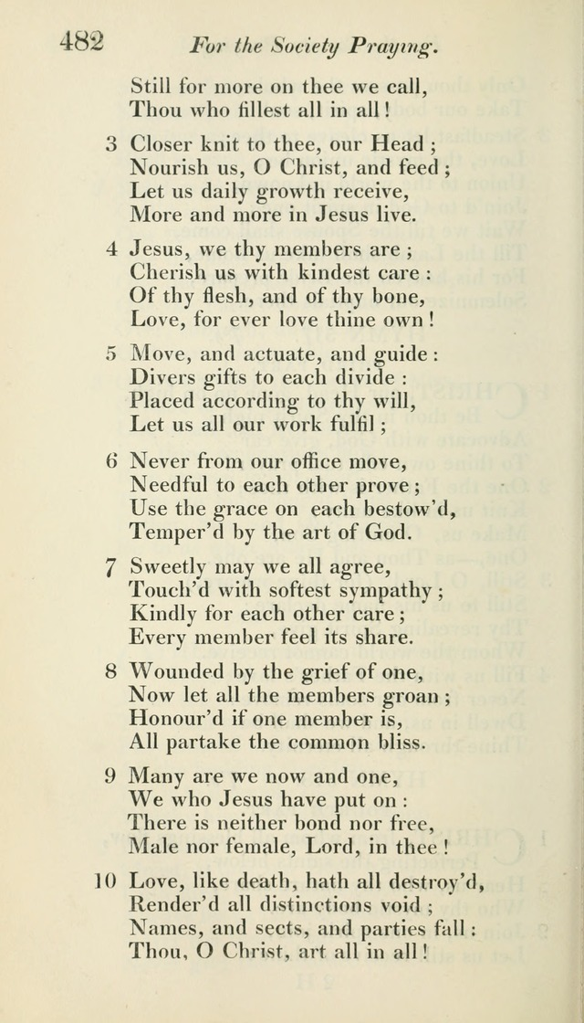 A Collection of Hymns, for the Use of the People Called Methodists, with a Supplement page 484