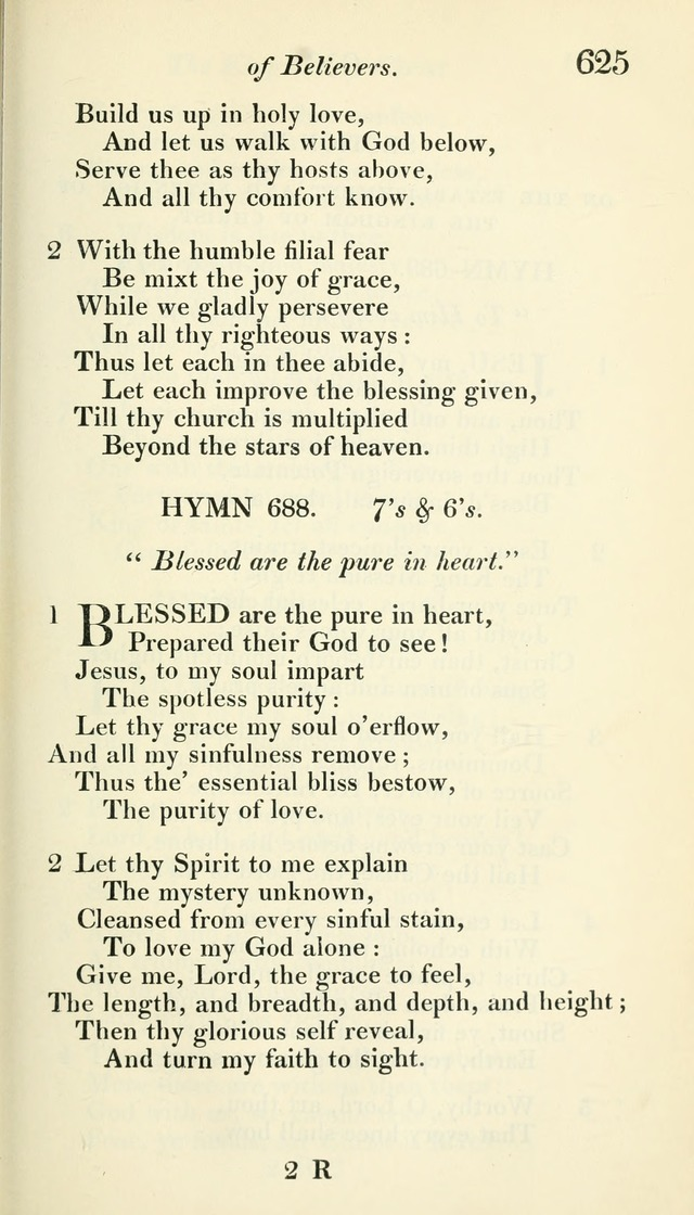 A Collection of Hymns, for the Use of the People Called Methodists, with a Supplement page 627