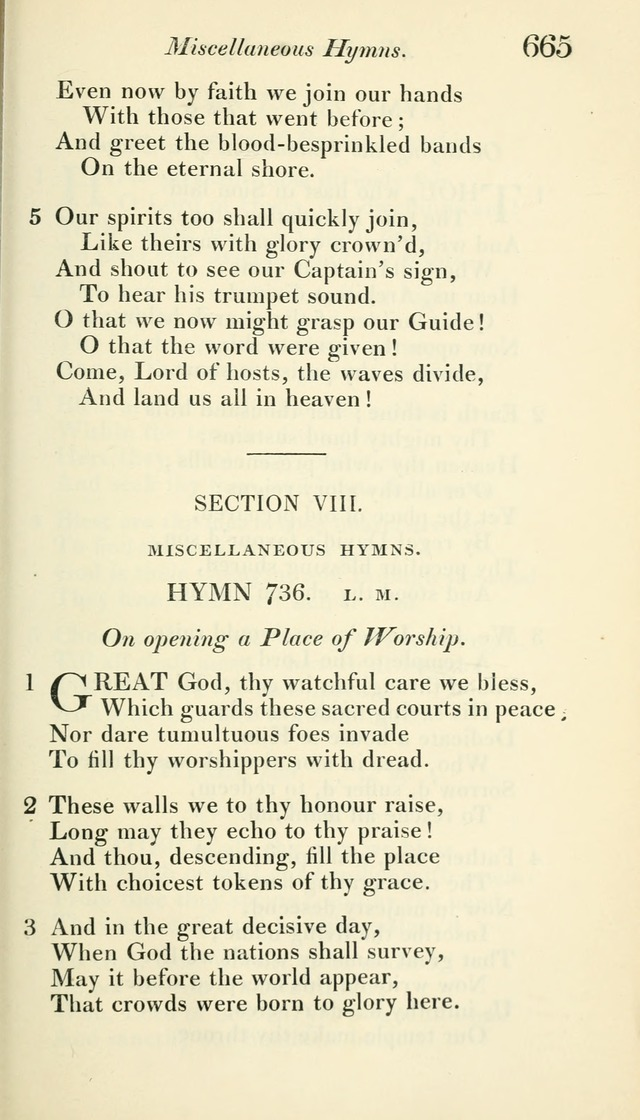 A Collection of Hymns, for the Use of the People Called Methodists, with a Supplement page 667