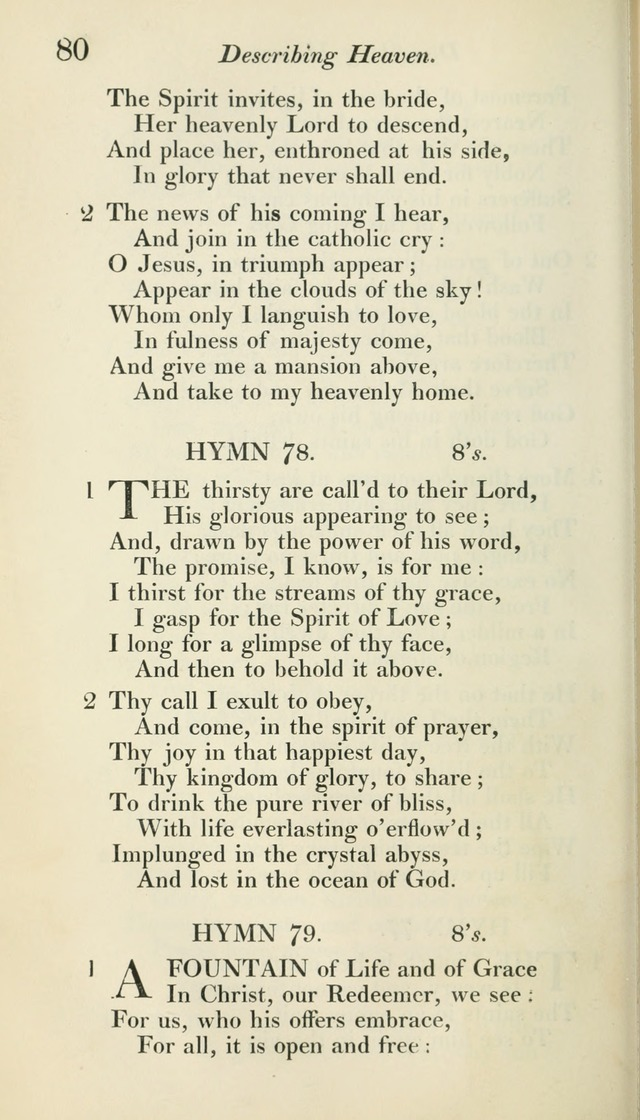 A Collection of Hymns, for the Use of the People Called Methodists, with a Supplement page 82