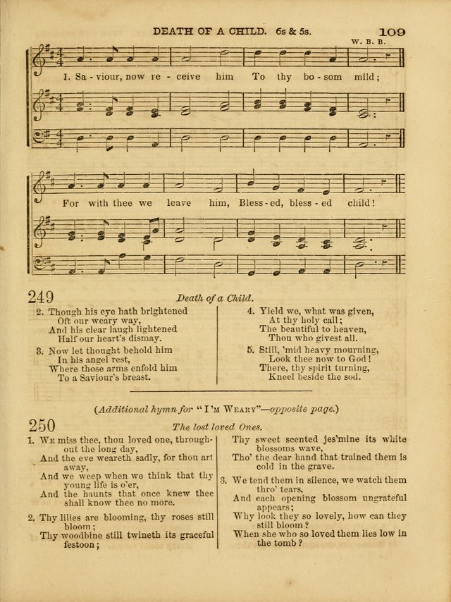 Cottage Melodies; a hymn and tune book, for prayer and social meetings and the home circle page 116