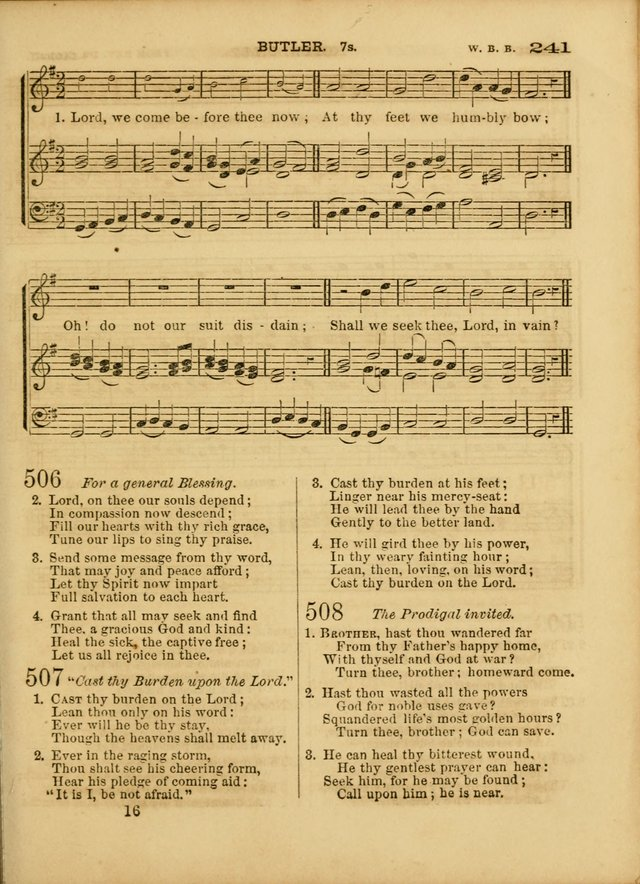 Cottage Melodies; a hymn and tune book, for prayer and social meetings and the home circle page 248