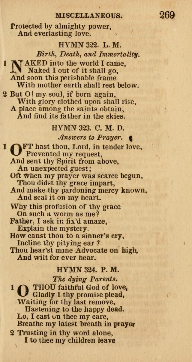 The Camp-Meeting Chorister: or, a collection of hymns and spiritual songs, for the pious of all denominations. To be sung at camp meetings, during revivals of religion, and on other occasions page 271