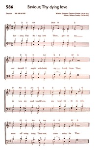 Something for Jesus | Hymnary org