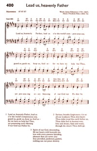 Lead us, heavenly Father, lead us   Hymnary org