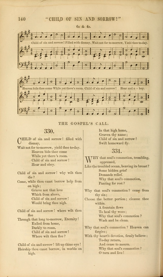 Church Pastorals, hymns and tunes for public and social worship page 140