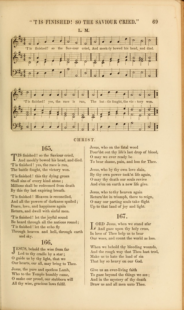 Church Pastorals, hymns and tunes for public and social worship page 69