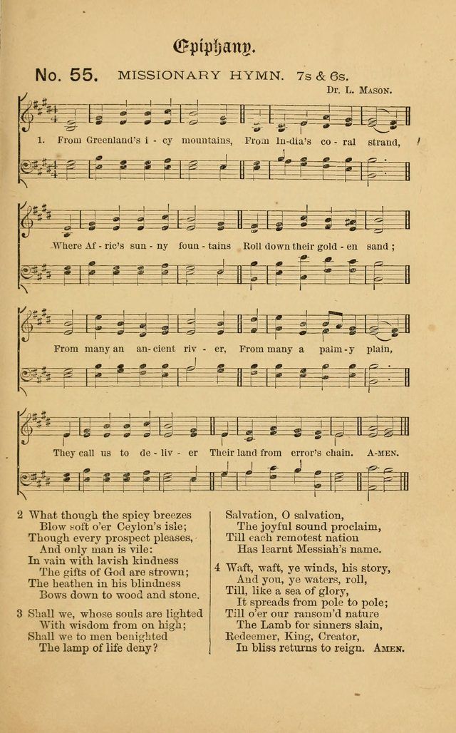 The Church Porch: a service book and hymnal for Sunday schools page 123
