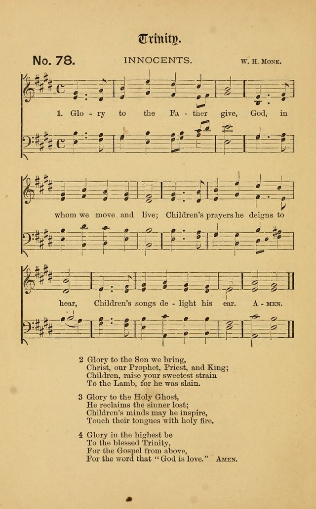 The Church Porch: a service book and hymnal for Sunday schools page 148
