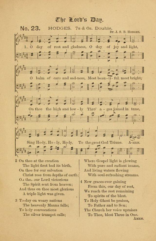 The Church Porch: a service book and hymnal for Sunday schools page 85