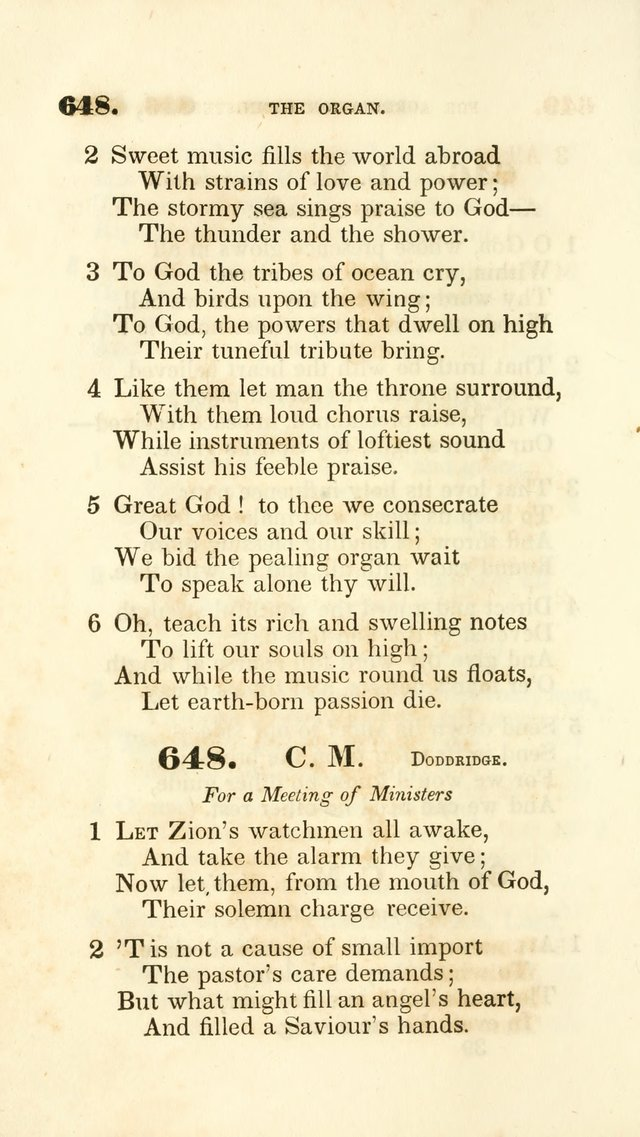 A Collection of Psalms and Hymns for the Sanctuary page 585