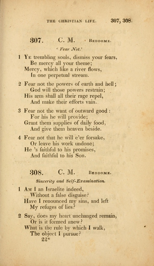 A Collection of Psalms and Hymns for Christian Worship. (3rd ed.) page 229