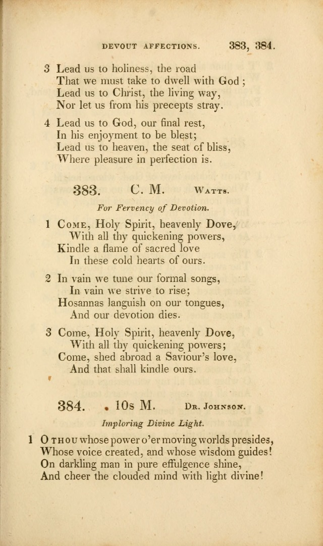 A Collection of Psalms and Hymns for Christian Worship. (3rd ed.) page 279