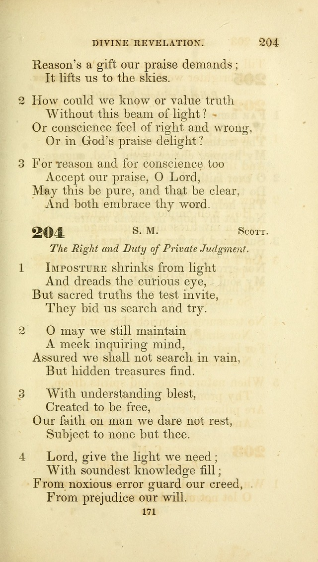 A Collection of Psalms and Hymns: from Watts, Doddridge, and others (4th ed. with an appendix) page 193