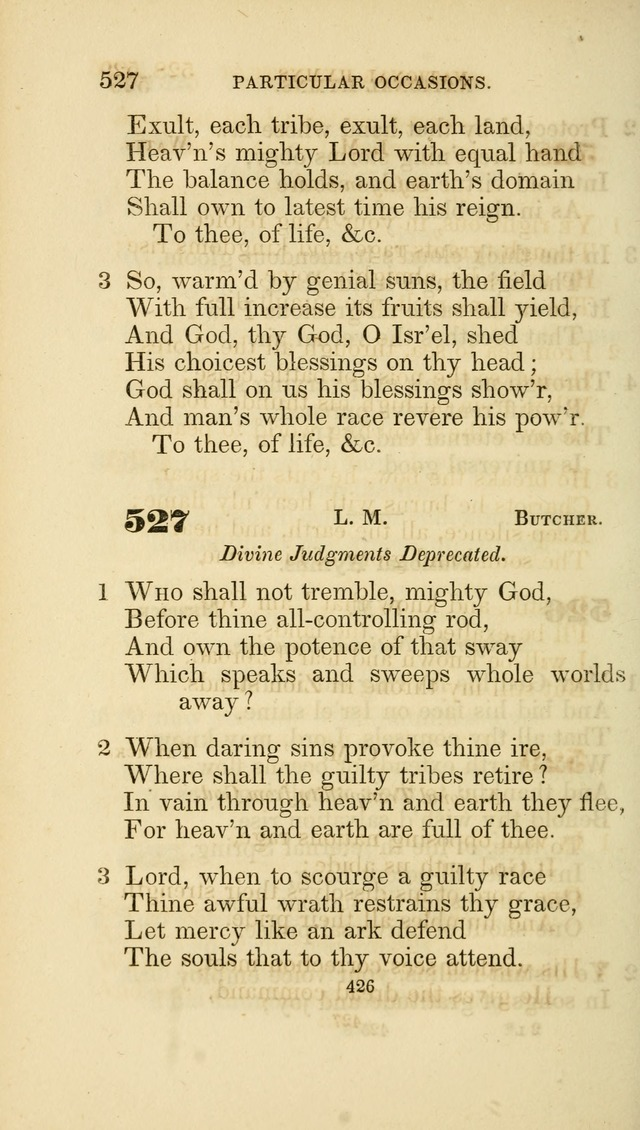 A Collection of Psalms and Hymns: from Watts, Doddridge, and others (4th ed. with an appendix) page 450
