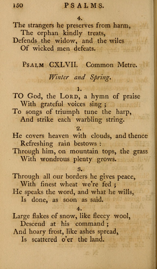 A Collection of Psalms and Hymns for Publick Worship (2nd ed.) page 150
